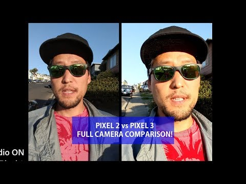 Pixel 2 vs Pixel 3 FULL Camera Comparison! - Nearly Identical?
