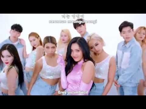 HWASA - TWIT (멍청이) [Sub Español + Hangul + Rom] HD