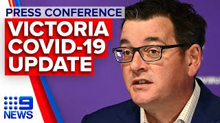 Coronavirus: Victoria Premier announces 428 new cases | 9 News Australia