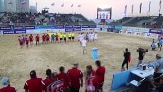 روسيا ثالثة في كأس القارات لكرة القدم الشاطئية