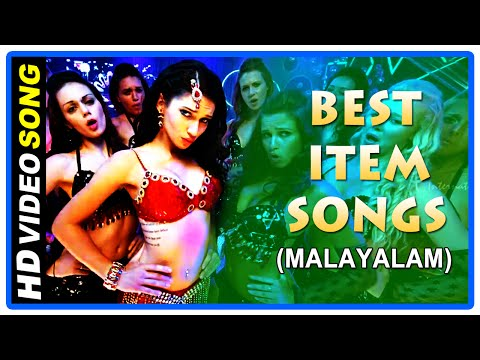 Malayalam Movie Item Songs | Fast Dance Number | Video Jukebox