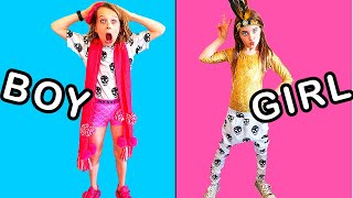 DANCE CLOTHES SWITCH UP Challenge By The Norris Nuts