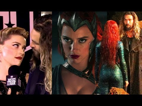 Amber Heard  -  Mera - Aquamans Wife - funny & cute moments