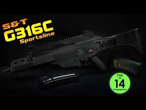 [Review] S&T G316C Sportsline 0,5 Joule FSK14 - Airsoft 6mm BB German/Deutsch