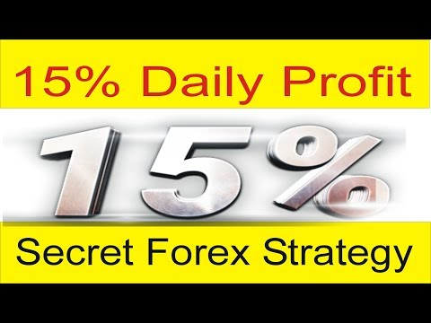 Secret Strategy 15% Daily Regular Profit In Forex ! Best Forex Profitable Method 2018 By Tani Forex