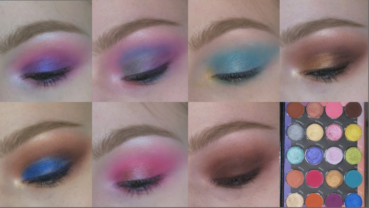 Weekend Festival 20 Color Shadow Palette by BH Cosmetics #10