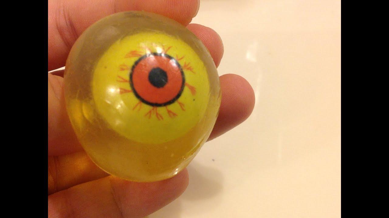 Squishy Eyeballs : Squishy Eyeball Toy: Eyeball Surgery - YouTube