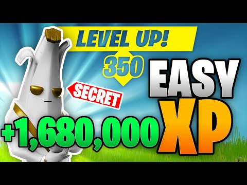 5 EASY Ways To Get MORE XP In FORTNITE *Level Up FAST*