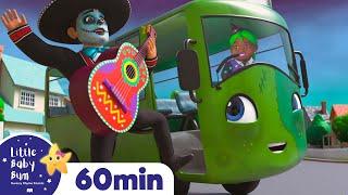 Halloween Wheels On The Bus + More Halloween Nursery Rhymes & Kids Songs - Little Baby Bum