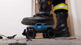 Stomping RC Truck with Haix Fire Flash
