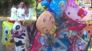 balonku ada lima arabian version   balon mainan anak anak  balon karakter