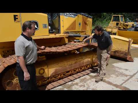 How to Measure Dozer Undercarriage Wear - YouTube