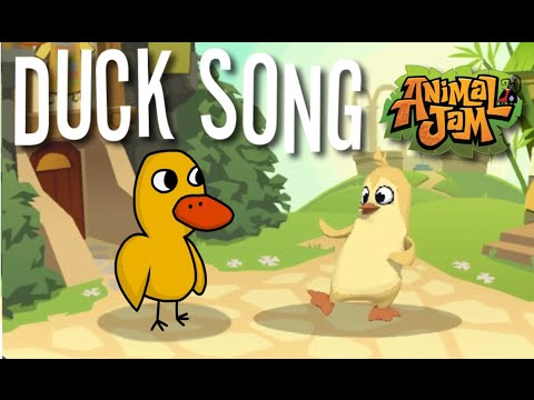 The Duck Song in Animal Jam!