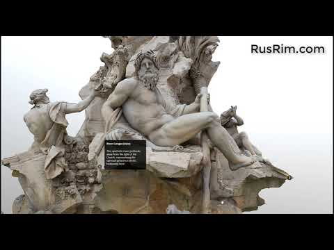 Piazza Navona 3D - Private car tour of Rome with local guide Rusrim.com Electronic music