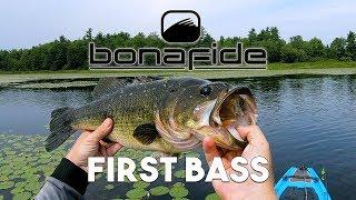 Bonafide Kayak Bass Fishing - First Bass on the SS127