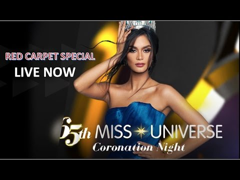 2017 Miss Universe RED CARPET Full Show - LIVE NOW