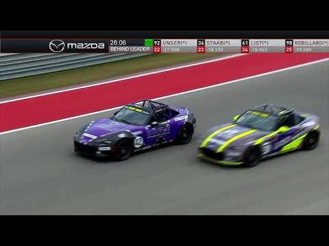 2019 Battery Tender Mazda Global Mx-5 Cup Race #1 at COTA