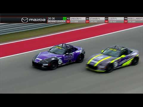2019 Battery Tender Mazda Global Mx-5 Cup Race #1 At COTA
