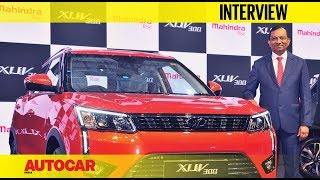 Mahindra XUV300 launch - Dr Pawan Goenka | Interview | Autocar India