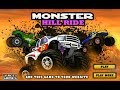 Monster Hill Ride / Monster Truck / Truck Drive / Browser Flash Games / Gameplay Video