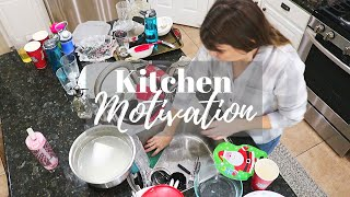 BIGGEST PILE OF DISHES // KITCHEN Cleaning Motivation // Cleaning Mom