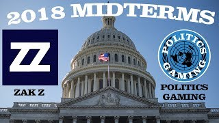 LIVE FEDERAL ELECTION COVERAGE | ZAK Z & POLITICSGAMING COVERAGE OF US MIDTERMS