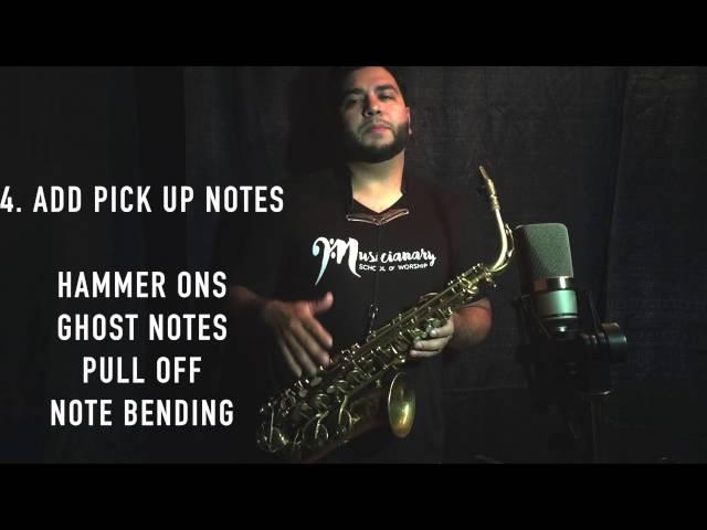 Free Sax lesson. 6 Tips to sound Pro!