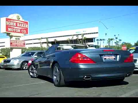 2006 Mercedes Benz Sl500