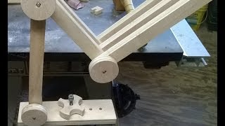Diy Articulated Wood Arm Camera Mount