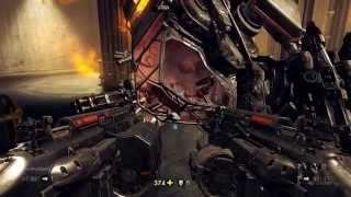 Wolfenstein The New Order - Final Boss (Deathshead) on UBER Difficulty - 835 HP Overcharging Guide