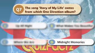 One Direction Quiz