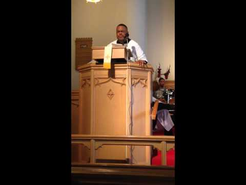 Pastor William Bailey of Christian Love Baptist Church sings Rise Again - Easter 2015