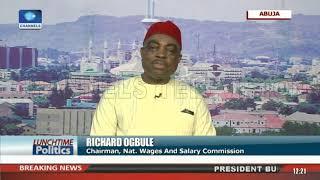 Minimum Wage: NISWC Chairman Speaks On Implementation |Lunchtime Politics|