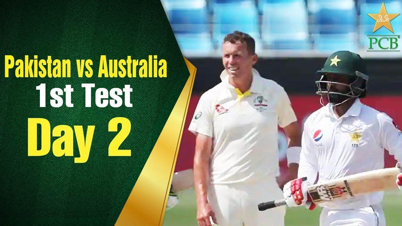 Pakistan vs Australia in UAE 2018 1st Test Day 2 Full Highlights