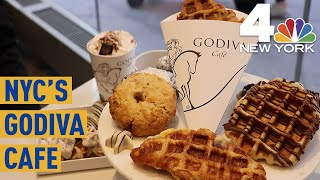 Chocolate Lovers, Rejoice! Godiva's First Permanent Cafe Opens in NYC | NBC New York