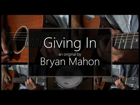 """Giving In"" Original by Bryan Mahon"
