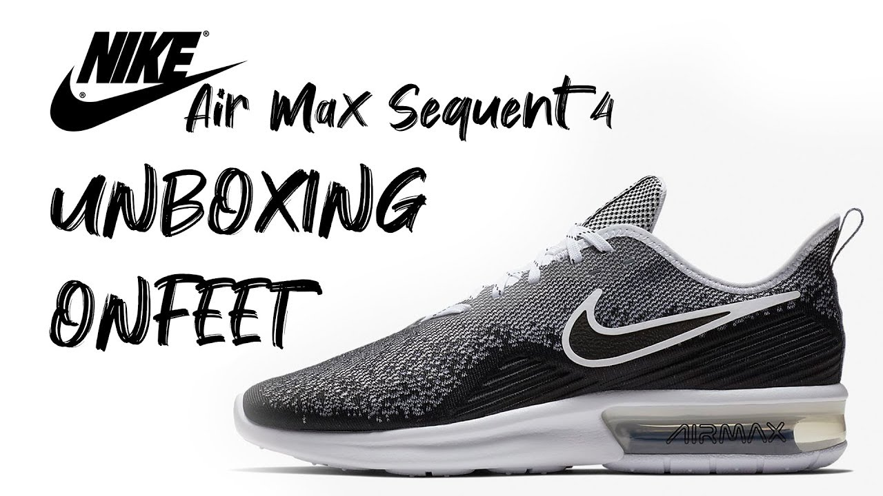 nike air max sequent 4 youtube