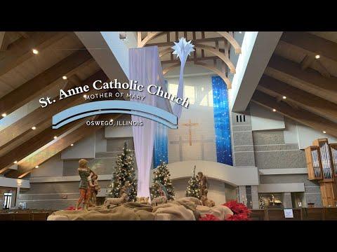 12/31/2020 Mass for St Anne Oswego,  Solemnity of Mary