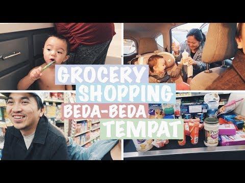 Vlog #186 | ANAK 1,5 TAHUN BANYAK GAYA, BELANJA GROCERY LAGIII 😂