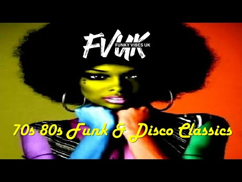 Funk Mix 70's & 80s - Dj XS London Old School Funk & Disco Classics Mix (2018) Free DL