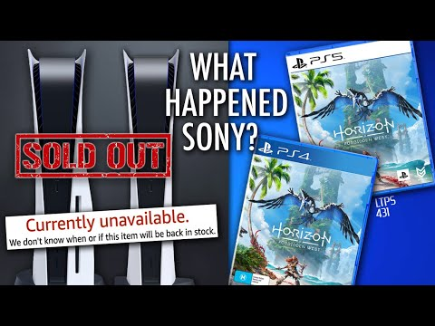 Sony Messed Up PS5 Pre-Orders. PS5 Production Issues? | PS5 Exclusive Games on PS4. - [LTPS #431]