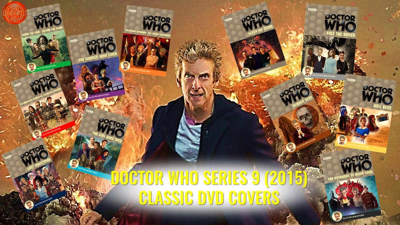 doctor who series 9 2015 classic dvd covers youtube