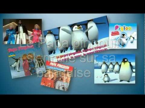 le papa pingouin et pigloo en vacances youtube. Black Bedroom Furniture Sets. Home Design Ideas