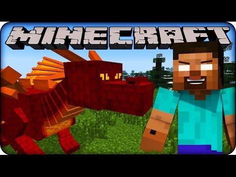 Minecraft - HEROBRINE'S PET DRAGONS - YouTube