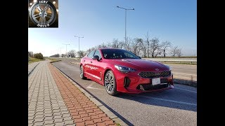 TEST: Kia Stinger 2,2 CRDi 4WD GT Line 2017 ( review )