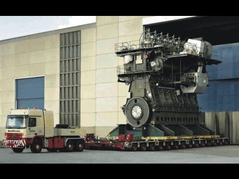 TOP 10 Biggest Engines