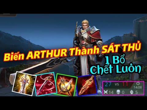 Biến ARTHUR Thành Một Sát Thủ Mùa 16 Full Dame | 1 Bổ Lú Luôn