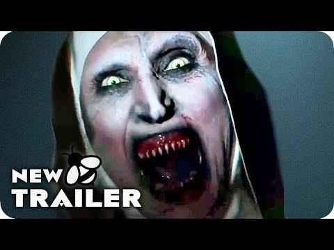 THE NUN Terrifying Clips, Featurette & Trailer (2018) Horror Movie