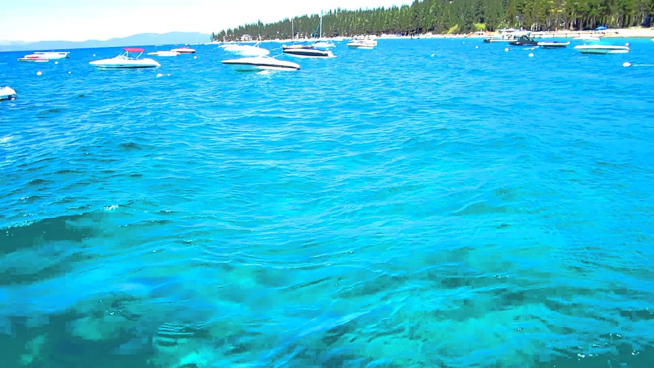 Lake Tahoe - clarity of the water - YouTube