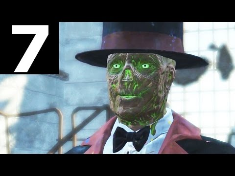 Fallout 4 Nuka World Part 7 - Ghoul Magician Oswald | A Magical Kingdom - Walkthrough Gameplay